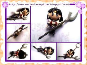 Chaveiro Sailor Saturn - Sailor Moon