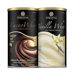 Kit Cacao Whey + Vanilla Whey - Essential Nutrition