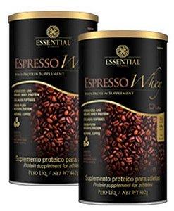 Kit Espresso Whey 2 potes de 462g cada