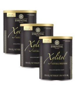 Kit Xylitol 300g e 900g Essential Nutrition