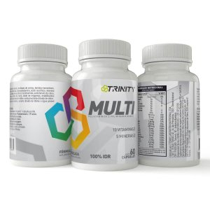 Kit Multi Multivitaminico - 3 potes de 60 cápsulas cada - 180 cápsulas