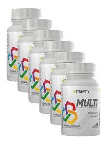 Multi Multivitaminico  60 cápsulas cada - Kit para 12 meses