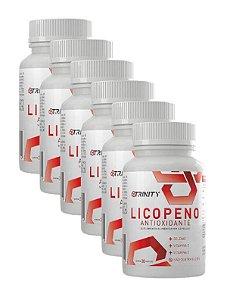 Kit 6x Licopeno - 30 cápsulas cada pote