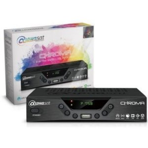 RECEPTOR ALPHASAT CHROMA HD + WIFI