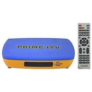 RECEPTOR SuperBox Prime ITV 4K - ACM