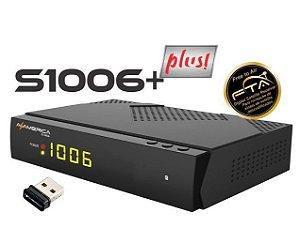 RECEPTOR AZAMERICA S1006 + PLUS HD / ACM - Lançamento!