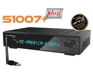 RECEPTOR AZAMERICA S1007 + PLUS HD / ACM - Lançamento!