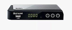 RECEPTOR ALPHASAT GO! / IPTV / H265 / WI-FI / ONDEMAND / ACM - Lançamento!