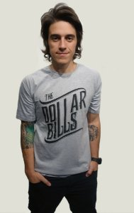 Kit Camiseta Masc. The Dollar Bills + EP The Round Sessions + EP Sounds Like a Band