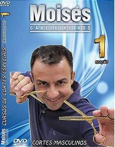 DVD de Cortes Masculinos Vol 01