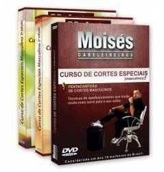 Kit DVDs Masculinos Vol 01, 02 e 03