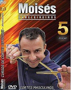Dvd de Cortes Masculinos Vol 05 Lançamento 2017