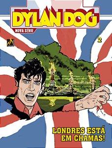 Dylan Dog Nova Série - vol 2 - Anarquia no Reino Unido - Português Capa Brochura – 11 de janeiro de 2019