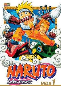 NARUTO GOLD 1 - DE MASASHI KISHIMOTO 13 DE OUTUBRO DE 2020