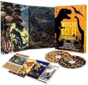 Invasão Sci-Fi - Dinossauros  Com 2 dvd's