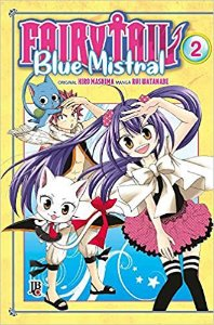 Fairy Tail Blue Mistral - Vol. 2 Capa Brochura  4 novembro 2019