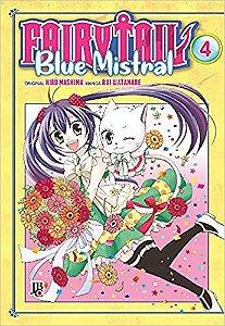 Fairy Tail Blue Mistral - Vol. 4 Capa Brochura  4 novembro 2019