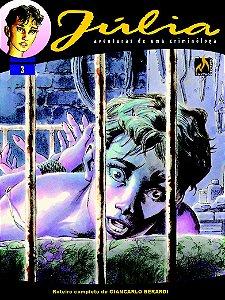 Júlia -  Vol. 03   Na mente do monstro  Português Capa Brochura  lançado em  14 de novembro  de  2020