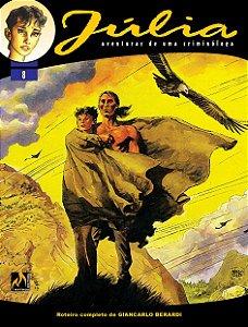 Júlia - Vol. 08: Se as montanhas morrem Português Capa Brochura – 24 de  julho de 2020