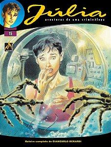 Júlia - Vol. 15 Morte segurada Português Capa Brochura – 7 de dezembro de 2020