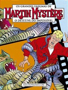 Martin Mystere - volume 04: Necronomicon - Português Capa Brochura – 23 de  junho de  2018