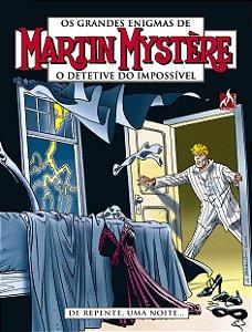 Martin Mystère - volume 05: De repente, uma noite...- Português Capa Brochura – 3 de  outubro de 2018