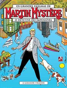 Martin Mystère - volume 07 A grande fraude - Português Capa Brochura – 2 de janeiro de 2019