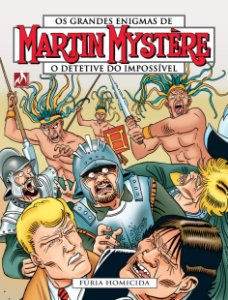 Martin Mystère - volume 08 Fúria homicida - Português Capa Brochura – 5 de abril de 2019