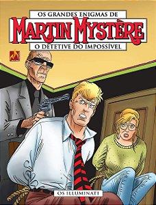 Martin Mystère - volume 13 Os Illuminati - Português Capa Brochura – 11 de setembro de 2019