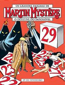 Martin Mystère - volume 14 29 de fevereiro - Português Capa Brochura – 20 de  outubro de 2019