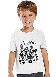 Camiseta Sambão Infantil