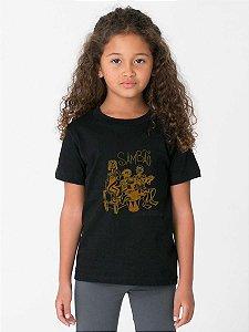 Camiseta Infantil - SAMBÃO - PRETA