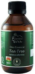 Óleo Essencial Tea Tree Orgânico (Melaleuca) 100ml