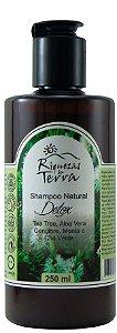 Shampoo Detox - Tea Tree, Gengibre, Menta e Chá Verde