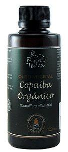 Óleo de Copaíba Orgânico 100% Puro 120ml - Certificado Orgânico IBD