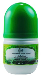 Desodorante Rollon Natural Anti Stress (Lemongrass) 60ml