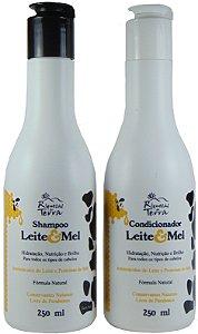Kit Promocional - Shampoo e Condicionador Leite e Mel 250ml