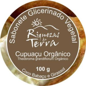 Sabonete Glicerinado Vegetal Cupuaçu Orgânico - OUTLET