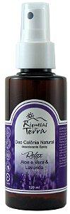 Deo Colônia Desodorante Natural Relax - Lavanda