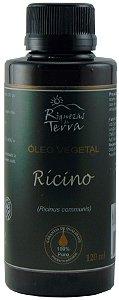 Óleo Vegetal de Rícino 100% Puro -120ml
