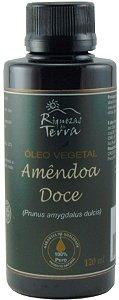 Óleo Vegetal de Amêndoas Doces 100% Puro - 120ml