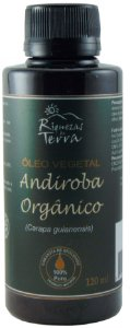 Óleo Vegetal de Andiroba Orgânico 100% Puro - 120ml