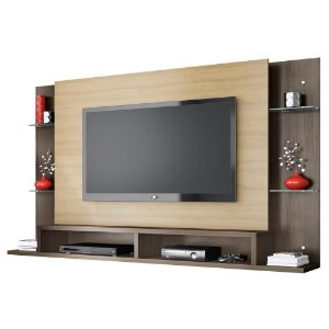 Painel para Tv com Bancada Malbec Belaflex