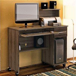 Mesa para Computador Studio - 2 Gavetas -  Lukaliam