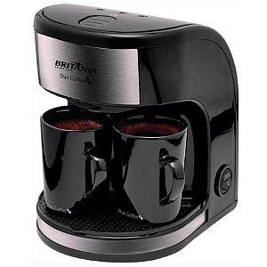 Cafeteira Elétrica Duo Coffe 2 Xícaras Filtro Lavável  250ml