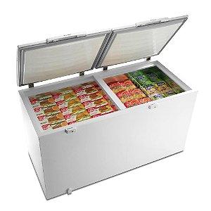 Freezer Horizontal Electrolux Dupla Função 385 Litros Branco - H400C 02 portas