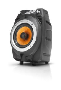 Caixa Amplificada Bluetooth Multi-uso Nks Pk550 Com 100w Rms