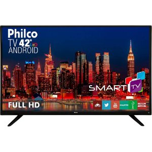Smart Tv Led 42 Philco Ph42f10dsgwa 2 Hdmi 2 Usb Função DNR