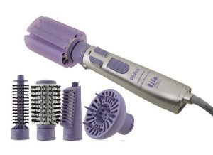 Escova Rotativa  Secadora Modeladora Spin Íon Brush 110V