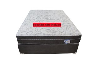 Cama Box Casal Plumatex Halley 138x188x30cm
